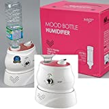 Mtec MH-502P Humidifier bottle PET Humidifier 100-240V Pink Made...