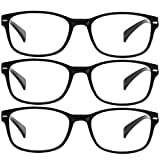 Reading Glasses 3 Pack Black Reader Always Have a