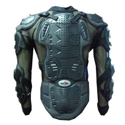 MOTORCYCLE MOTOCROSS BIKE GUARD PROTECTOR BODY ARMOR BLACK CE - Armor Body Chest