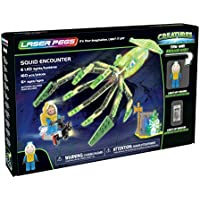 Laser Pegs Squid Encounter Light-Up Building Block...