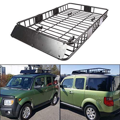 "ECOTRIC 64"" Universal Black Roof Rack Cargo Crrier Car Top"