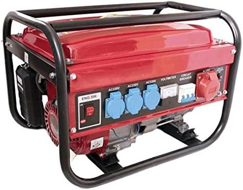 Generador electrico gasolina 230/380V 5500w trifasico