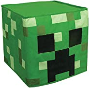 Minecraft Creeper Block Head Costume Headpiece, Official Minecraft Costumes, Single Size Kids Costume Accessor