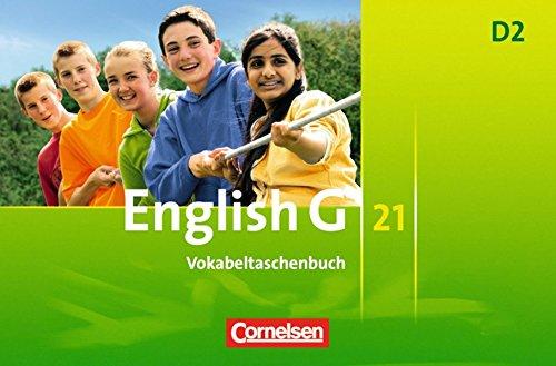 English G 21 - Ausgabe D: Band 2: 6. Schuljahr - Vokabeltaschenbuch