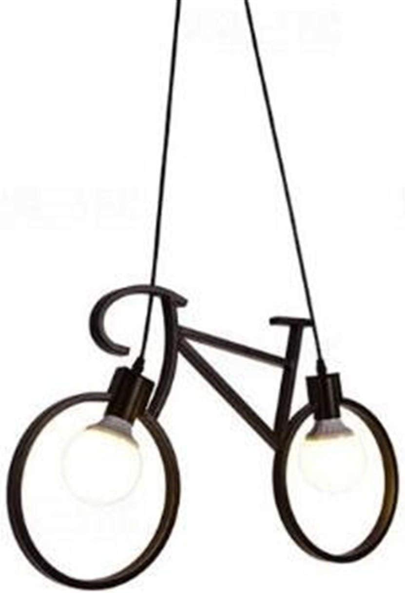 XH shop Chandelier Vintage hierro forjado bicicleta araña país ...