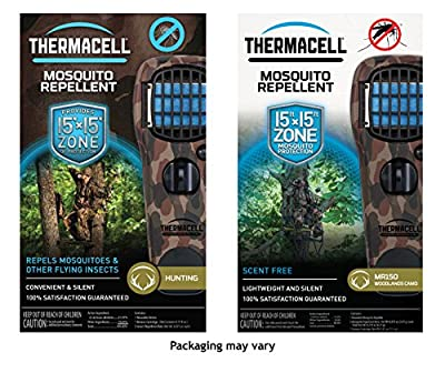 Thermacell Portable Mosquito Repellers, Multiple Colors