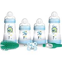 MAM-Conjunto de alimentación de recién nacidos Boy (azul)