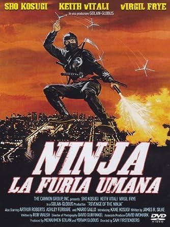 Amazon.com: Ninja La Furia Umana by sho kosugi: sho kosugi ...