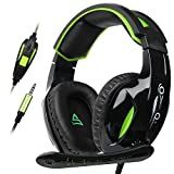 Supsoo G813 Stereo Bass Surround Gaming Headset Headphone 3.5mm Wired Over-ear Noise Volume Control with Mic for PC/ PS4 /Mac/ Laptop Review