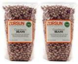 Zursun Heirloom Dry Cranberry Beans 24 oz each (2-Pack)