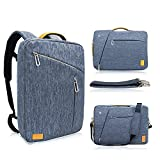 WIWU 15.6 Inch Laptop Convertible Backpack, Multi Functional Travel Rucksack Water Resistant Knapsack Work School College Backpacks for men and women, Business Backpack fit 15.6 laptops Review