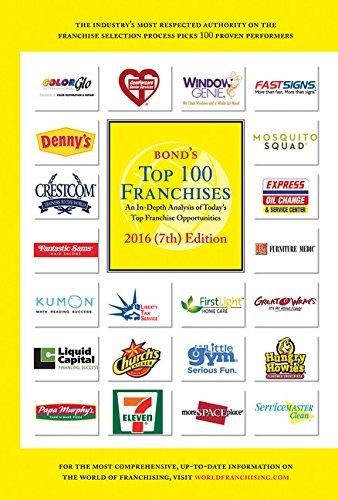 Bond's Top 100 Franchises, 2016