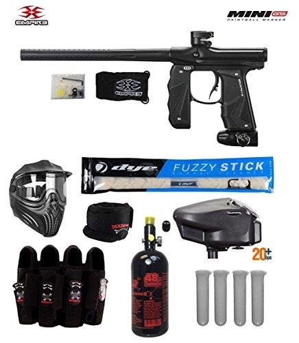 Empire Mini GS Tournament Elite Paintball Gun Package B - Dust Black