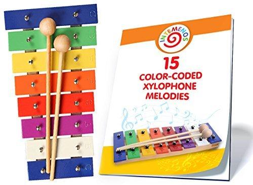 Color Xylophone for Kids - Glockenspiel 8 Notes