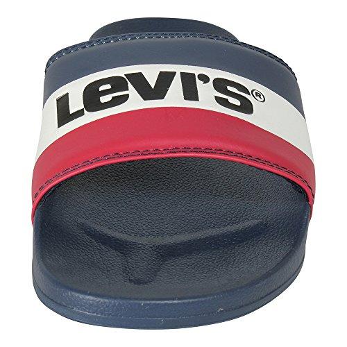 Levi's Men's June Sportswear Flip Flops Blue (Royal Blue 19) 3y5iF