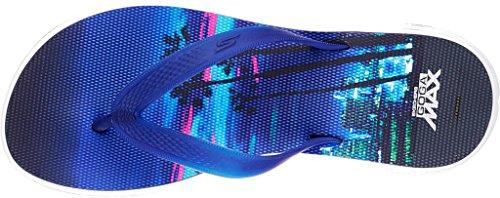 Skechers Womens H2 Goga Performance Thong Sandal Los Angeles Blue/Multi bds8cE