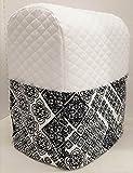 7 quart proline - Mosaic Damask Kitchenaid Stand Mixer Cover (White, 7qt Proline/8qt Commercial)