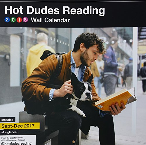 Hot Dudes Reading 2018 Wall Calendar