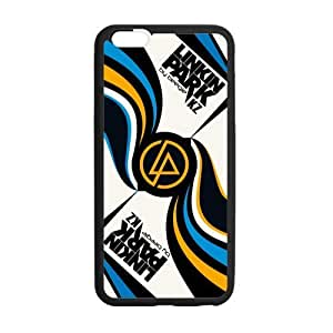 WXSTAR Fashion Linkin Park Custom Case for iPhone6 Plus 5.5 (Laser Technology)