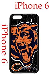 Chicago Bears iPhone 6 4.7 Case Hard Silicone Case