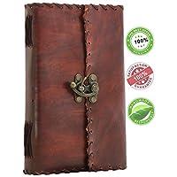 SouvNear Olde Worlde Genuine Leather Journal - 9 x 5