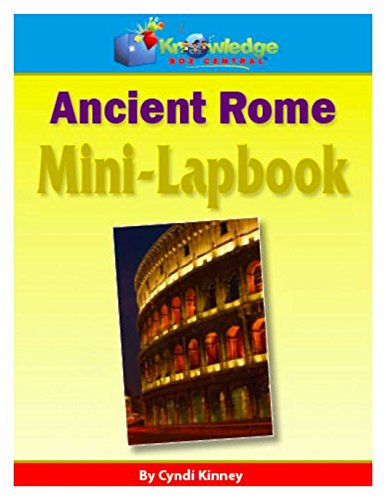 Ancient Rome Mini-Lapbook (Mini Pompeii)