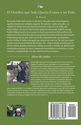 El Hombre que Solo Quería Correr y ser Feliz: The Man who Only Wanted to Run and be Happy (Spanish Edition): Joseph Millariega: 9781540887085: Amazon.com: ...