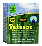 Radiancio for Hormonal Acne, 60 Capsules