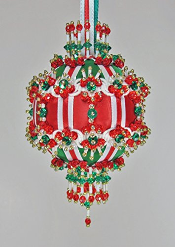 (The Glimmer Tree River Queen Beaded Ornament Kit 3
