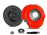 Clutch Kit Works With Nissan 240Sx Base Se Le Coupe Hatchback Convertible 2-Door 1991-1998 2.4L L4 GAS DOHC Naturally Aspirated (KA24DE; 5 Speed; STAGE 1)