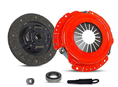 - Clutch Kit Works With Nissan 240Sx Base Se Le Coupe Hatchback Convertible 2-Door 1991-1998 2.4L L4 GAS DOHC Naturally Aspirated (KA24DE; 5 Speed; STAGE 1)