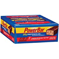15-Pack PowerBar Protein Plus Bar Chocolate Peanut Butter 2.12 oz Bar