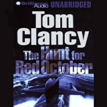 The Hunt for Red October Audiobook by Tom Clancy Narrated by J. Charles