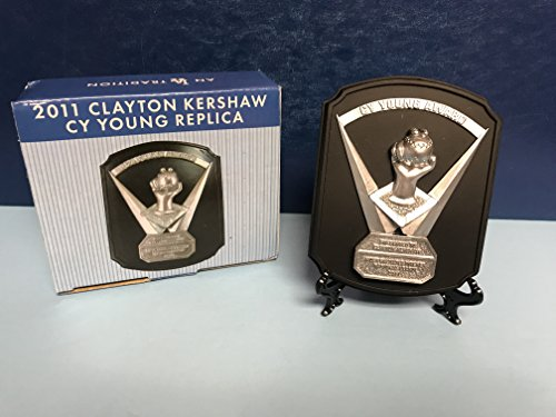 Clayton Kershaw 2011 CY YOUNG replica award plaque Los Angeles Dodgers - Award Young Cy