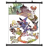 Little Witch Academia Anime Fabric Wall Scroll Poster (16 x 23) Inches.[WP]-Lit-1