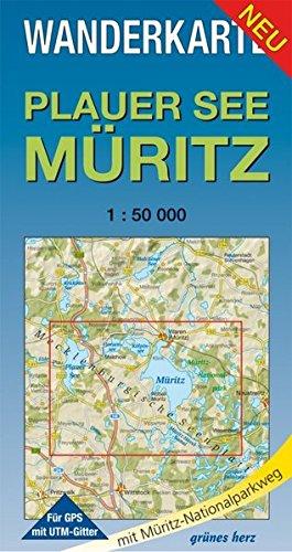 Wanderkarte Plauer See, Müritz: Maßstab 1:50.000 (Wanderkarten 1:50.000) Landkarte – Folded Map, 1. Mai 2013 Lutz Gebhardt grünes herz 3866360347 Mecklenburg-Vorpommern