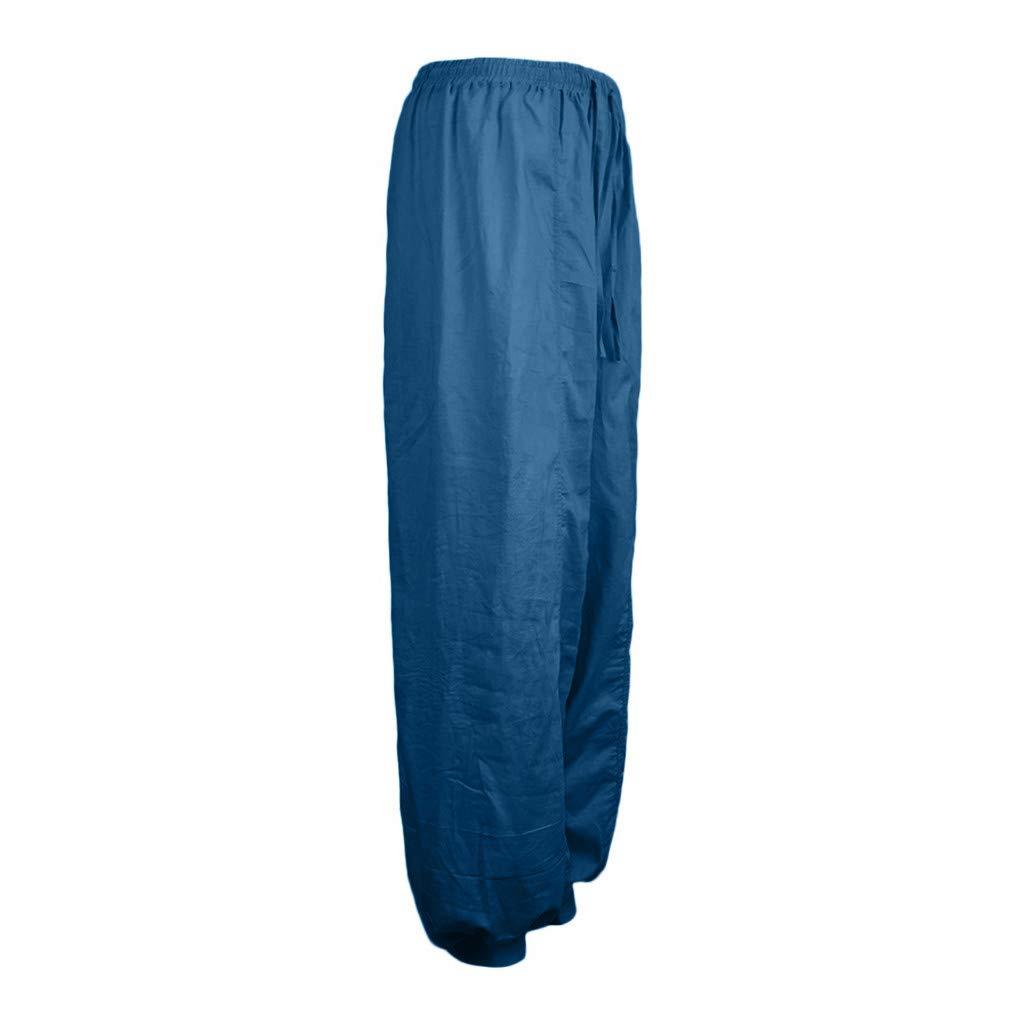 Amazon.com: Creazrise Womens Plus Size Harem Pants Bohemian ...