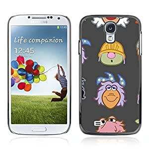 A-type Arte & diseño plástico duro Fundas Cover Cubre Hard Case Cover para Samsung Galaxy S4 IV (I9500 / I9505 / I9505G) / SGH-i337 ( Jefes divertido Muppet )