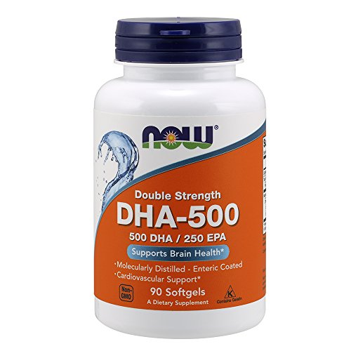 250 Mg Dha - NOW DHA-500,90 Softgels