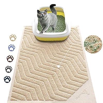 Cat Litter WePet Cat Litter Mat, Kitty Litter Trapping Mesh Mat, 35 x 23...