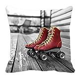 meSleep Roller Skates 3D Cushion Cover (16x16)