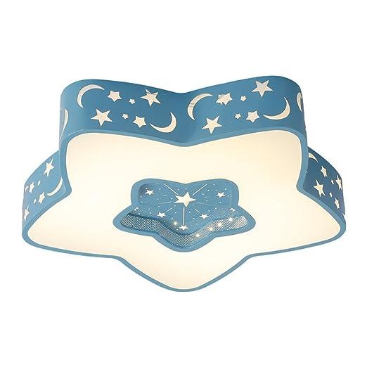 MEIHOME Lámpara de techo Moderna habitación niños estrellas ...