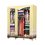 PENG Cloth Closet 25mm Steel Pipe Bold Reinforcement Single Oxford Cloth Thickening Multi-Coat All Steel Frame Children