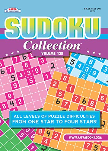 Sudoku Collection Puzzle Book-Volume 120