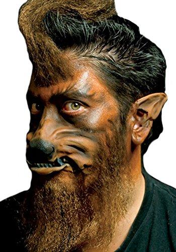 Woochie by Cinema Secrets Werewolf Ears Tips, Multi, One Size -