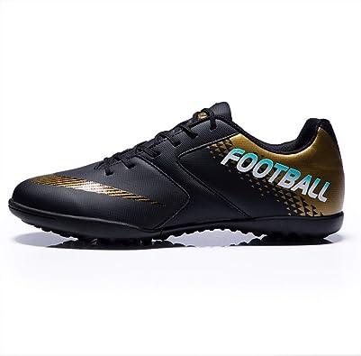 LYLZR Chaussures de Football pour Homme, Enfants et Enfants