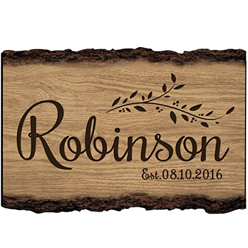 - Established Name and Date Wall Sign Personalized Family Gift Custom Family Name Sign Engraved with Family Name and Established Date By LifeSong Milestones (Est. Date)