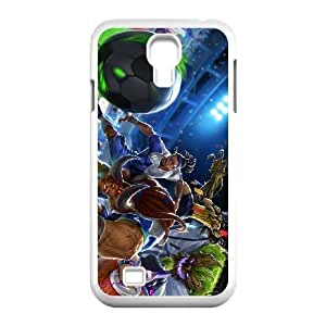 Samsung Galaxy S4 9500 Cell funda blanco League of Legends cerradero lucianos LM5672291