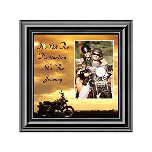 Its Not the Destination, Harley Davidson Motorcycle, 10X10 9760B (Its Not The Destination Its The Journey)