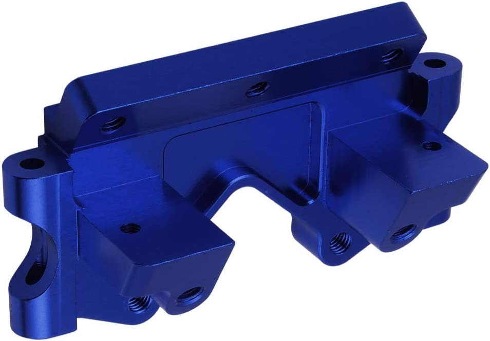 Navy Blue Anodized Hobbypark Aluminum Front Bulkhead Upgrade Parts for 1//10 Traxxas Slash 2WD Rustler Stampede Bandit Replace 2530 2530A
